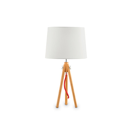 Lampe York TL1 Wood Ideal Lux LUMINAIRES PIERREL