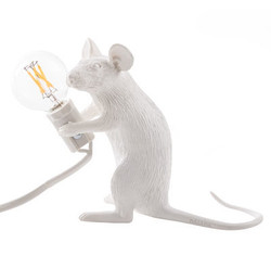 Lampe The Mouse assise, Seletti