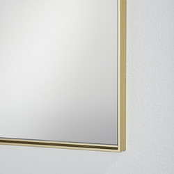 Miroir Lucka frosted gold hall, Deknudt