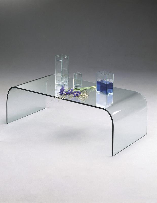 Table basse verre marais international - Table basse pont en verre ...