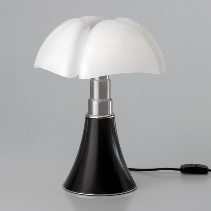 lampe pipistrello mini noir martinelli luce luminaires pierrel. Black Bedroom Furniture Sets. Home Design Ideas