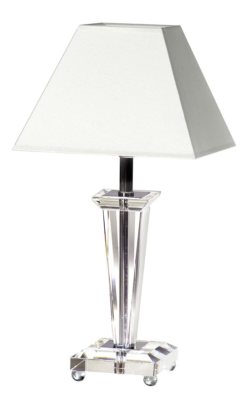 lampe via ts collection cristal le dauphin luminaires pierrel. Black Bedroom Furniture Sets. Home Design Ideas