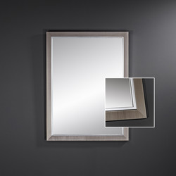 Miroir Breman Dark rectangle, Deknudt