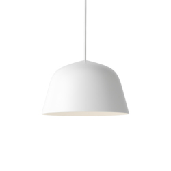 Suspension Ambit blanc diamètre 25 cm, Muuto