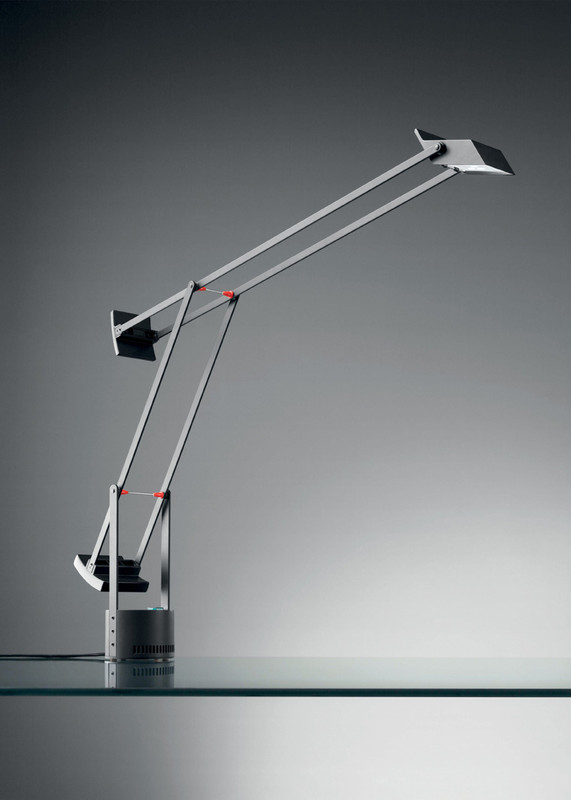 Lampe de bureau tizio led artemide luminaires pierrel - Lampe de bureau artemide ...