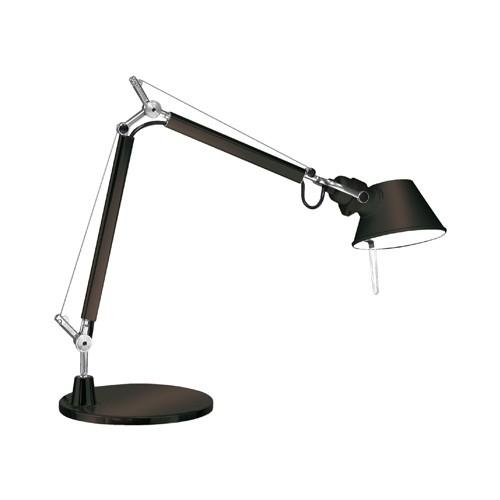 lampe de bureau tolomeo micro noir artemide luminaires. Black Bedroom Furniture Sets. Home Design Ideas