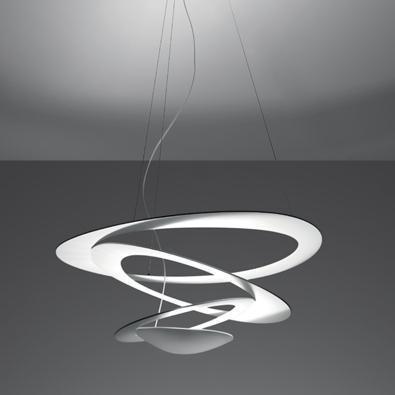 suspension pirce mini blanche led artemide luminaires. Black Bedroom Furniture Sets. Home Design Ideas